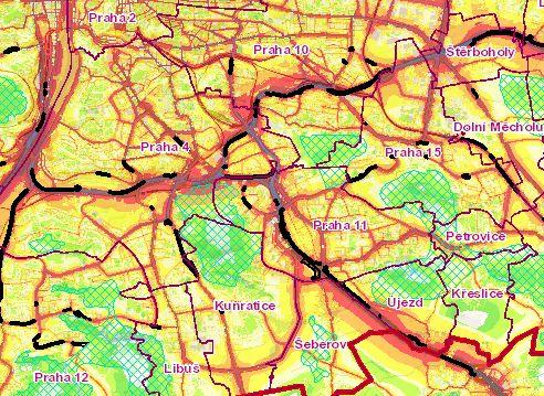 Hluková mapa