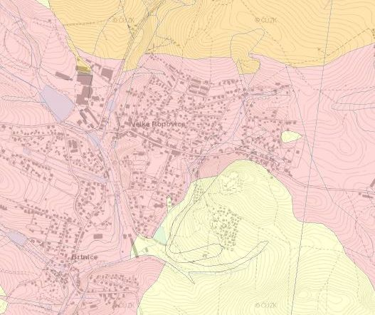 Radonová mapa
